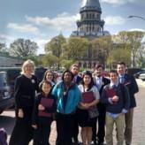 Center Students Lobby at Illinois Statehouse