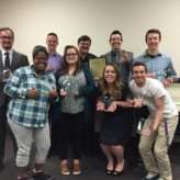 Center-Sponsored Mock Trial Team Recognized in Special Ceremony