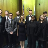 "Center-Sponsored First Mock Trial Team Receives ""Spirit Award"" Honorable Mention"